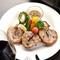 滋賀県のビワマスや農家の野菜など、地元の食材にこだわる
