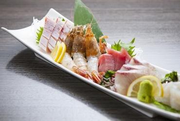 新鮮な日本海の幸『お刺身五種盛り』