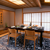 坪庭付きの上質な個室は、顔合わせや結納に最適