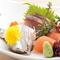 「マグロ」や「アジ」など、新鮮な静岡県産食材を楽しめる