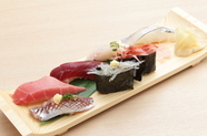「とっておき」の上質なネタをご提供『寿司ランチ』