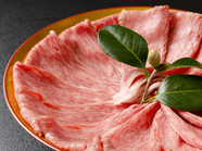 新鮮野菜と共に味わえる『すき焼き懐石コース』