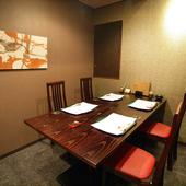 個室は接待や会食にも最適