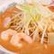 手間ひまかけたスープの深いコクに感動。『濃厚えびみそラーメン』