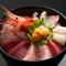季節の新鮮な魚介が約10種類! 見た目も彩り鮮やかな、贅沢『海鮮丼』