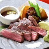 会津で育った「奥会津牛」。生産者の熱意がこもった極上の肉です