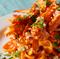 渡り蟹 のトマトクリームソース