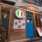 現地イタリアの食堂のように、普段遣いが気軽にできるレストラン