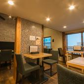 一軒家レストランならではの寛ぎと、遊び心を加えた空間
