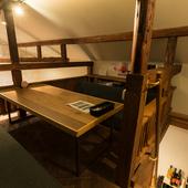 個室感覚で過ごせるロフト席は、大人と子供の特別な秘密基地に