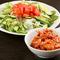 本日の野菜サラダ