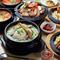 『参鶏湯』をはじめとする、韓国本場の味わい