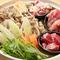 地元の食材を活かしたコース料理『八の味噌コース』