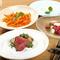 豊富な静岡の味覚と、西日本から取り寄せるさまざまな食材