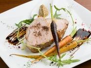 岩手のブランド肉『岩中豚ロースの網焼き』