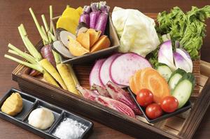 フレッシュな味わいを満喫『神奈川県 横須賀 地野菜盛合せ』