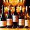 厳選ワインが約40種類。豊富なラインナップを心ゆくまで満喫