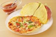 創業40年の秘伝のレシピで作られる『ピザとタコスのセット』
