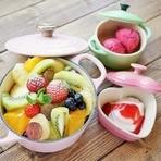 数量限定!季節のフルーツとフロマージュブランのパンケーキ(選べるドリンクつき)