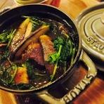 じっくり煮込んだお肉とポルチーニ、野菜が沢山!ボリューミーな『道産牛とポルチーニのビーフシチュー』