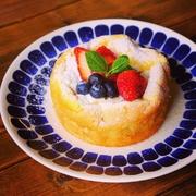 テイクアウトでしか味わえない限定パンケーキです!(お皿は別です!)