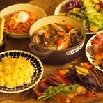 選べるお料理に飲み放題付!ユニックの美味しいお料理とあたたかな空間で楽しいひと時をお過ごしください