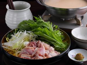 野菜ももりだくさん!『さつま鶏コラーゲン水炊き』
