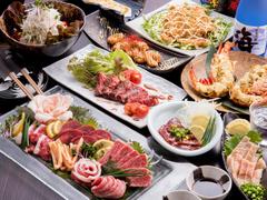 【喰海】自慢の料理が堪能できるコース
