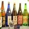 定番の日本酒にはじまり、豊富なお酒を味わえる