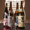 酢飯に合う柔らかな口当たりのものを揃えている日本酒