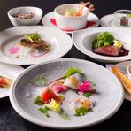 襟裳産を中心に、北海道で旬を迎えた食材をお召し上がり下さい。