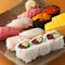 年間約130種の寿司ネタを使用!季節ごとの味わいを楽しめる