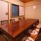 広いお座敷個室があり、接待や会食、ご家族のお集まりなどに向く