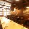 宴会や接待に利用できる洗練された雰囲気の完全個室