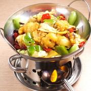 小鍋炒め料理がバリエーション豊富