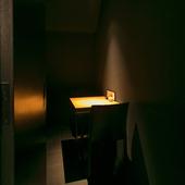 オシャレな密室のような個室はデートや会食に!