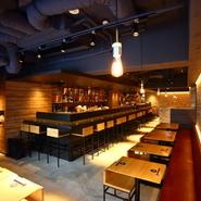 渋谷でありながら、落ち着いたおしゃれな空間【KINKA】。お店を丸ごと貸切って、気の知れた仲間とパーティーや2次会、宴会はいかが。気負わずに心安らぐパーティが楽しめます。当日のプランも一緒に相談のります。