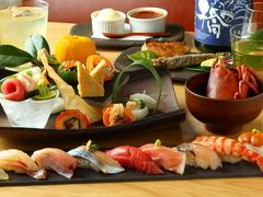 ~デート・女子会・飲み会におすすめ~職人おすすめ!『極』を極めた寿司好きにたまらないコース