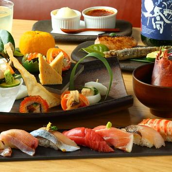 (全7品)寿司おまかせ「極」コース