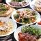 Tanto Tango自慢のピザとパスタを含む贅沢コース♪事前予約で500円オフでお愉しみ頂けます。