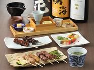 丸鶏をお店で捌き、普段食べられないような希少部位も丸ごと味わえる絶品コース『東京軍鶏 焼鶏コース』
