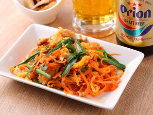 シンプルな味付けの沖縄郷土料理『にんじんしりしり』