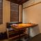 和の趣漂う、プライベートな個室を完備