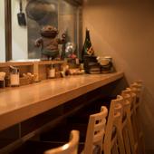 目の前に並ぶ食材が選べるのは、カウンター席の特典