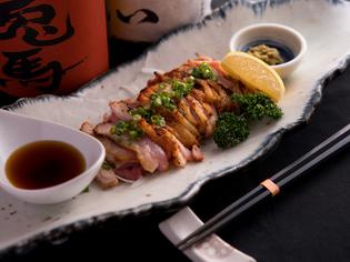 佐賀県産の「みつせ鶏」は、こだわりの食材です