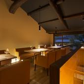 じっくりと「和食×ワイン」を楽しめる心地よい空間