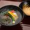 料理人渾身の一杯『海老真薯のお椀~神馬草~』