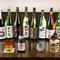 種類豊富な日本酒。期待が膨らむ料理との上質なマッチング