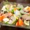 鮮度は折り紙付き! 『富山県新湊直送鮮魚のカルパッチョ』
