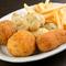 いろいろ食べたい人にはおすすめ、揚げ物の盛り合わせ『フリットミスト』